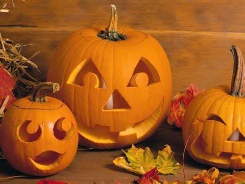 Тыква к хэллоуину раскраски
